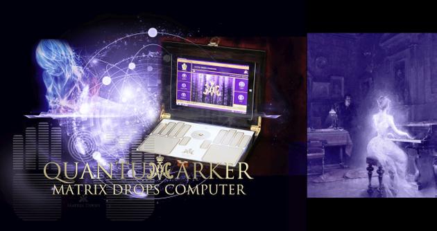 A szellemek jelenléte Matrix Drops Computerrel is mérhető